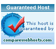 Guaranteed Host by CompareWebHosts.com